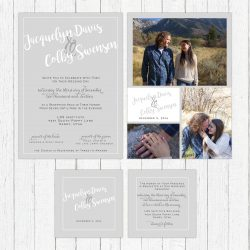 Jackie and Colby's Winter Wedding